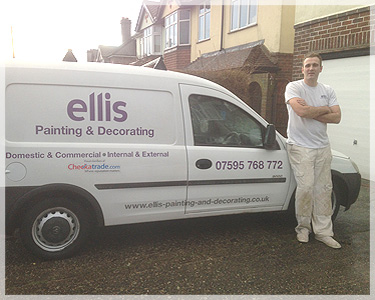 ellis Painting and Decorating Services based in Redhill surrey